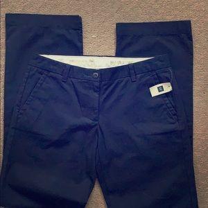 GAP Navy Classic Khaki Pants 6R